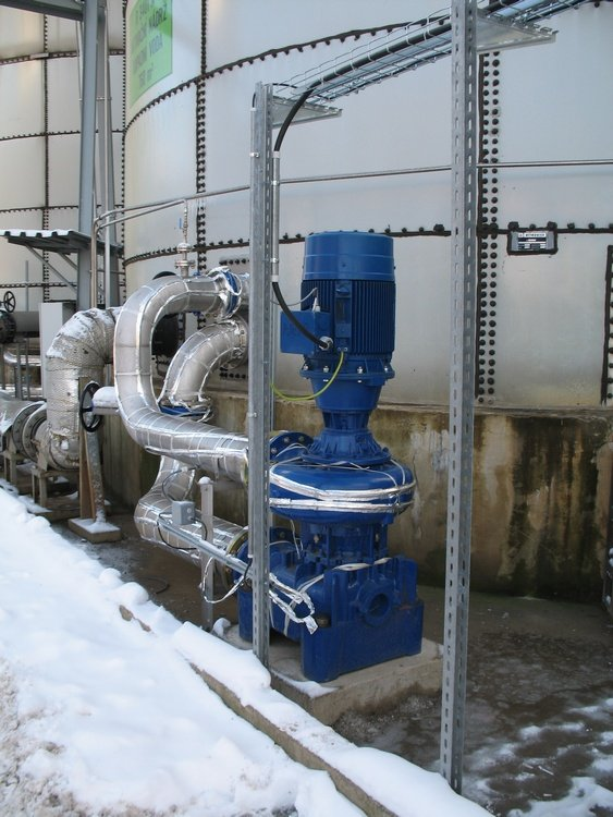 Circulating pump of bioreactor<br />Spolchemie